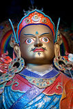 Statue of Guru Padmasabhava at Hemis Gompa, Ladakh Royalty Free Stock Photo
