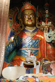 Statue of Guru Rinpoche Stock Images