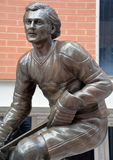 Statue of Guy Lafleur Royalty Free Stock Images