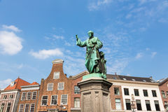 Statue in Haarlem in the Netherlands Royalty Free Stock Images