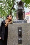 Statue of Hachiko - Shinjuku, Tokyo, Japan Royalty Free Stock Images