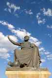 Statue of Haci Bektas Veli, Nevsehir Royalty Free Stock Photo