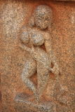Statue in Hampi, Karnataka state, India. Stock Images