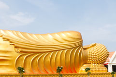 Statue hand of buddha Royalty Free Stock Photography