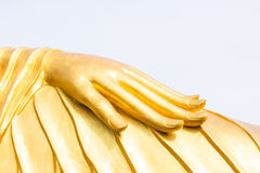 Statue hand of Buddha. At temple in Phuket, Thailand Stock Photos