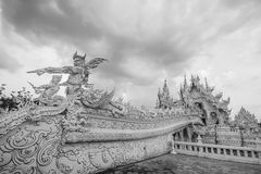 Statue hand 4. Thailand temple - Wat Rong Khun in Chiang Rai , Thailand Asia Royalty Free Stock Photography