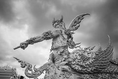 Statue hand 3. Thailand temple - Wat Rong Khun in Chiang Rai , Thailand Asia stock images