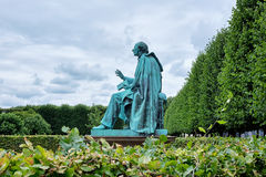 Statue of hans christian andersen Royalty Free Stock Image