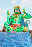 The statue of Hanuman Royalty Free Stock Images
