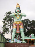 Statue of Hanuman, Hindu god at the Batu Caves Royalty Free Stock Photography