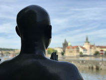 Statue Of Harmony. In Prague Czech Republic Stock Images