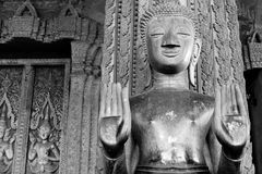 Statue in the Haw Pha Kaew. Stock Image