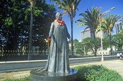 Statue of Hawaiian, Oahu, Hawaii Stock Photography