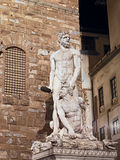 Statue of Hecules and Cacus in Florence Stock Photography