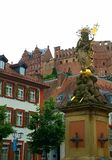 Statue in Heidelberg Germany Stock Photos