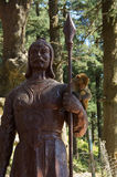 Statue am heiligen Affe-Tempel Shimla Stockbilder