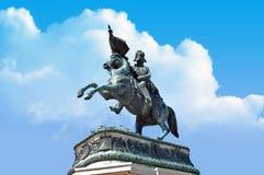 Statue at heldenplatz in Vienna, Austria Royalty Free Stock Images