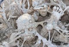 Statue from Hell,Wat Rong Khun Stock Photography
