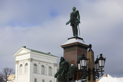 Statue In Helsinki Royalty Free Stock Image