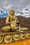 Statue in Hemis Gompa Royalty Free Stock Images