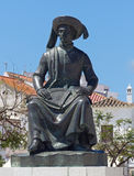 Statue of Henry the Navigator, Lagos, Portugal Stock Images