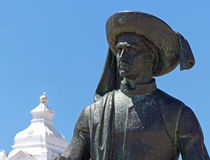 Statue of Henry the Navigator, Lagos, Portugal Stock Image
