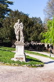 Statue of Heracles in urban garden in Vicenza Stock Images