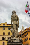 Statue of Hercules and Cacus by Baccio Bandinelli. Stock Image
