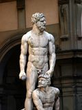 Statue of Hercules and Cacus in Florence Stock Photo