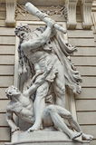 Hofburg Palace. Statue of Hercules - landmark attraction in Vienna, Austria. Statue of Hercules - Hofburg Palace, landmark attraction in Vienna, Austria Stock Photo