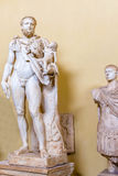 Statue Hercules and Telephus in Vatican museum Royalty Free Stock Photo