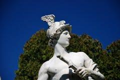 Statue of Hermes, Hermesvilla, Vienna stock photo