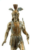 Statue of Hermes (Mercury) Stock Photos