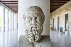 Statue of Herodotus Stock Image