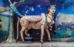 Statue of a hidnu goddes at Batu Caves temple. Hindu godess in the Batu Caves, Kuala Lumpur - Malaysia Royalty Free Stock Image