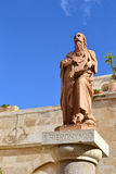 A statue of hieronymus. Stock Photography