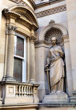 Statue on the High Street Royalty Free Stock Images