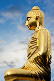 Statue on hill mountain Royalty Free Stock Photography