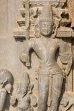 Statue Of Hindu God. At the ancient Surya Hindu Temple at Konark Orissa India. 13th Century AD Stock Photos