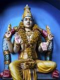 Statue of Hindu God at Batu Caves, Kuala Lumpur, Malaysia. Royalty Free Stock Photo