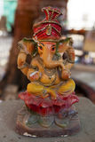 Statue of Hindu God Ganesha Stock Photos