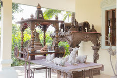 The statue Hindu god Ganesha Stock Images