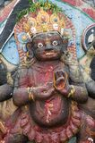 Statue of Hindu god-Kali Stock Image