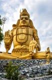 The statue of Hindu god Lord Shiva at Koneswaram Temple in Trincomalee, Sri Lanka Royalty Free Stock Photography