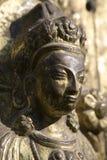 Statue of Hindu goddess stock photo