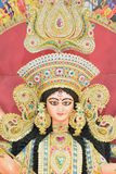 Statue of Hindu Goddess Durga at Durga Puja festivals. In West Bengal, India Stock Photography