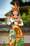 Statue of the Hindu goddess Stock Image
