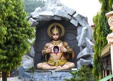 Statue of Hindu Lord Hanuman in Rishikesh. India Stock Image