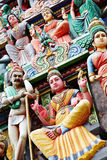 Statue in hindu temple Royalty Free Stock Photos