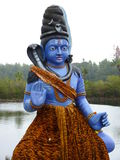 Statue In A Hindu Temple Stock Photo